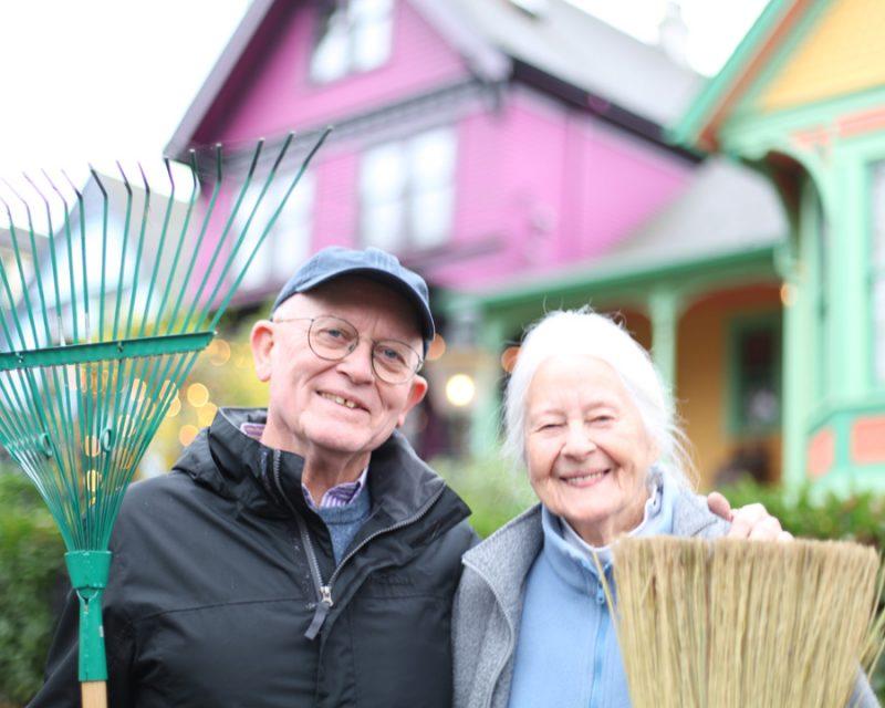 John Davis and Nita Davis
